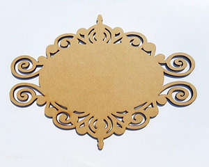 Mdf Name Plate Bases