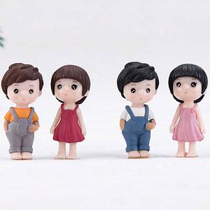 Miniature Boy & Girl