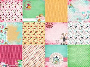 scrapbook paper, colorful paper, craft paper, decorative paper