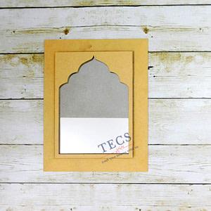 Rajwadi Mirror Frame 11X9 Inches
