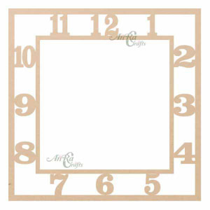 square number dial cutout