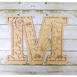 Hanging Monograms-3-M