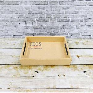 8x6x1.5 inch flat handle tray