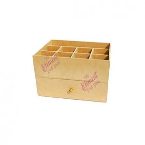 mdf drawer box,wood color