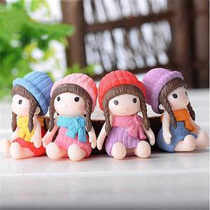 Cute Girl Resin Miniature