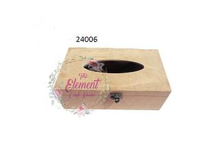 mdf circle shape tissue box