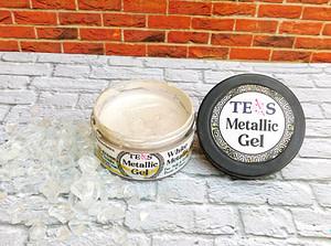 White Metallic Gel