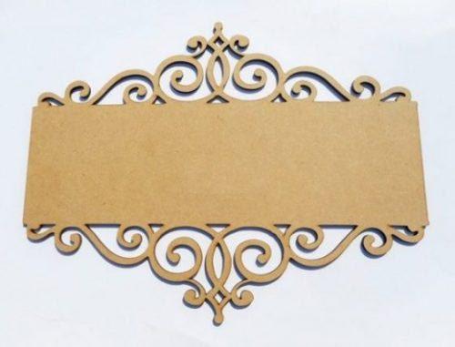 Mdf Board Name Plate