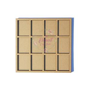 mdf square photo frame