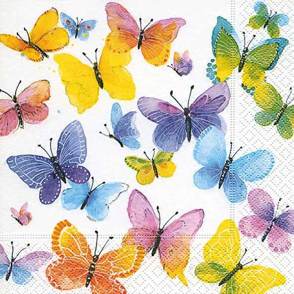 Butterfly decoupage Tissue Paper