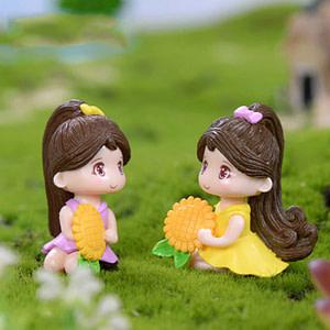 Mini Cute Girl Miniature