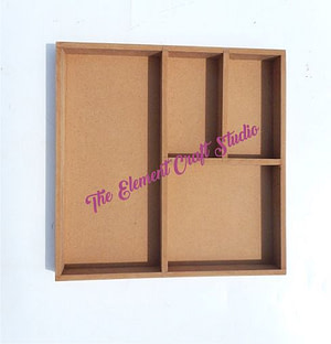 shadow box, made in mdf,multipurpose product