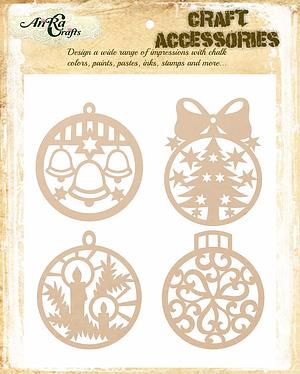 Circle Ornament Set