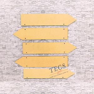 Arrow Plank Set Of 5