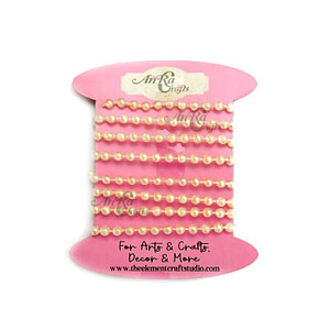 Pearl string 4mm