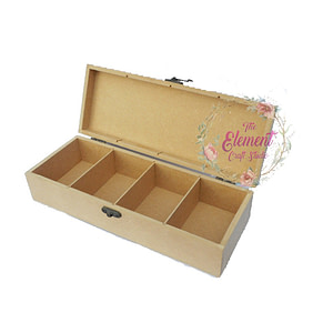 mdf box with four partition