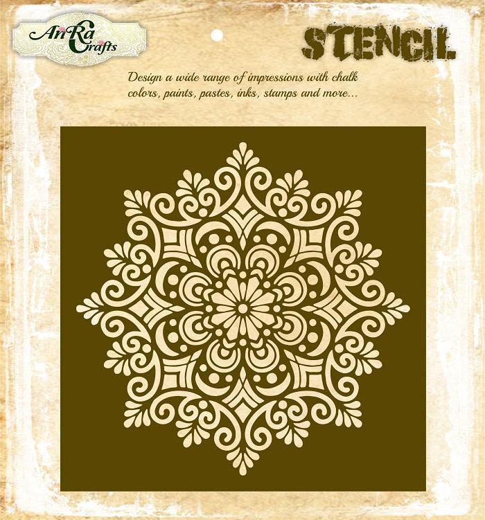 Mandala Stencil 5
