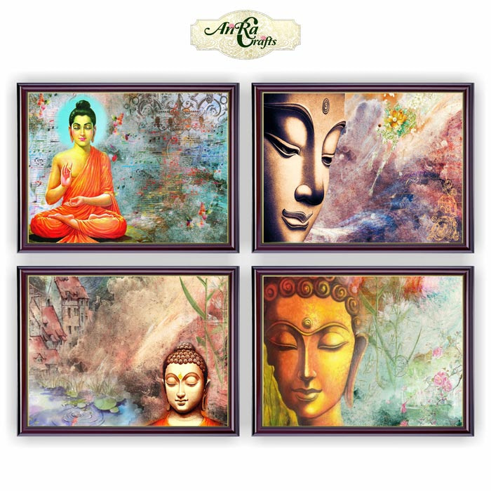 decoupage Buddham Paper