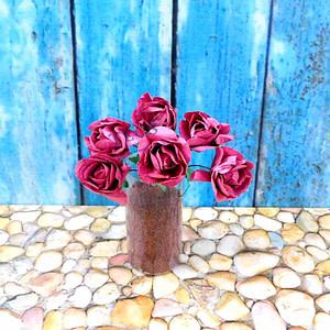 Mulberry Paper Rose Magenta