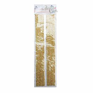 Golden Beads Sticker