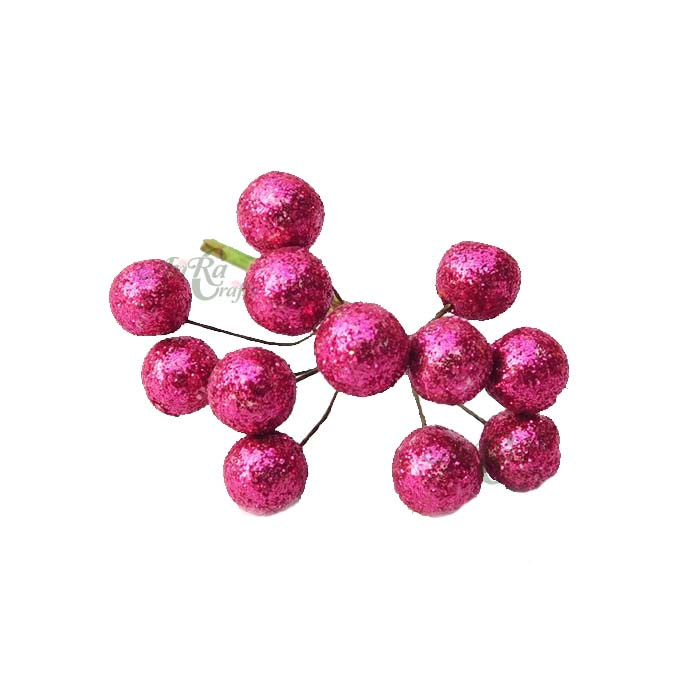 Glitter Berries Bunch