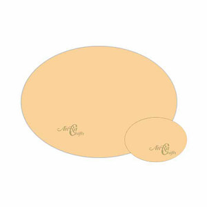 mdf oval Placemat