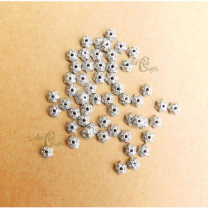 German Silver Bead Cap Online