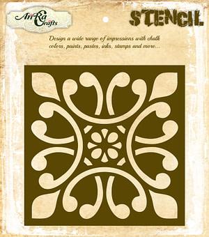 Moroccan Tile Stencil 10