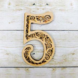 Filigree Number-5