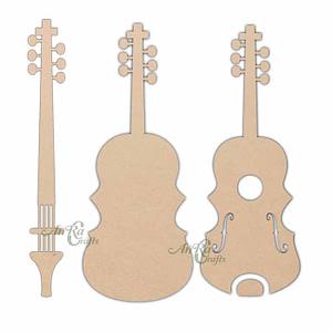 Mdf Wooden Guitar Base