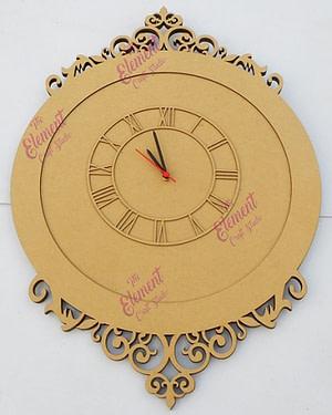 wooden clock, craft