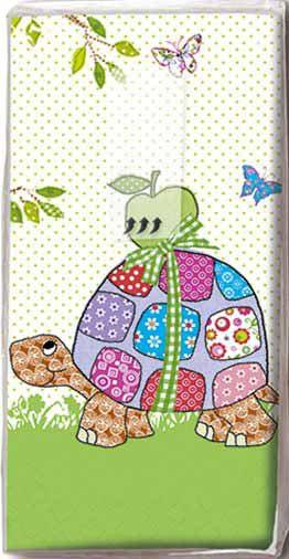 Turtle Decoupage Tissue Napkin