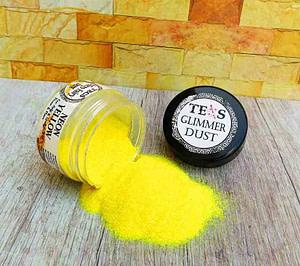 Yellow Neon Glitter