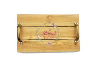 Natural Wood Pallet Tray